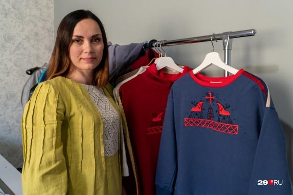 Ирина Вартанян — дизайнер костюмов, молодая мама и создатель своего бренда одежды