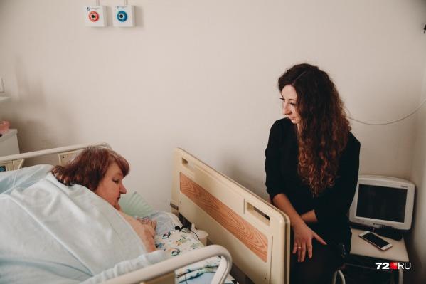 Мы навестили Любовь Михайловну в больнице и узнали, как она день за днем теряет лишние килограммы