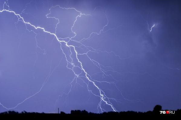 На этой неделе вероятность грозовых дождей в Ярославле будет каждый день