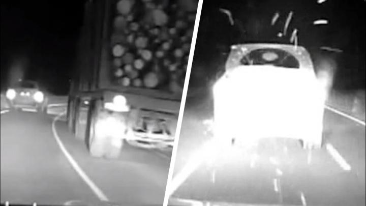 В Вилегодском районе полиции пришлось стрелять, чтобы остановить пьяного водителя BMW