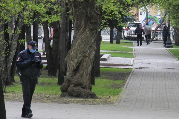 Полицию расставили по новосибирским паркам