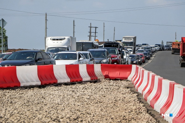 Репортаж NN.RU из ольгинской пробки