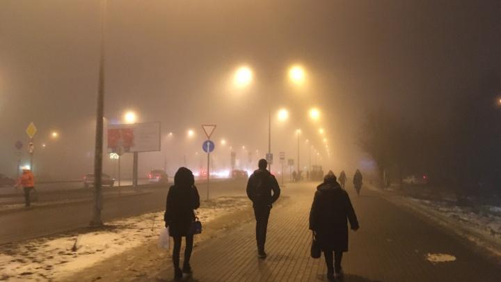 Туман и плохая видимость: в Самарской области объявлен желтый уровень опасности