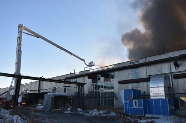 Пожар произошел вчера, 24 марта, на Камчатской