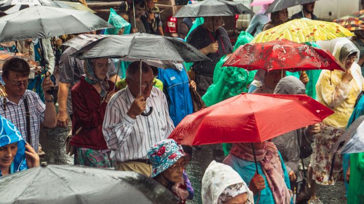 В Самарской области ожидаются дожди