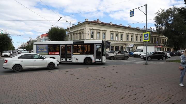 В Самаре автобусы пустили в объезд площади Революции