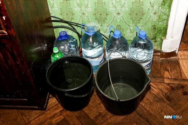 Водоканал осуществляет подвоз воды
