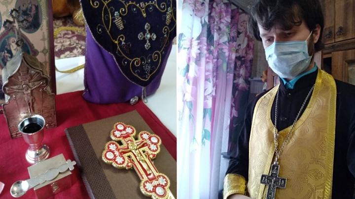 Из-за коронавируса ярославцы стали вызывать священников на дом