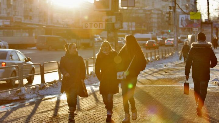 В Челябинск придут дожди и потепление до +10 °С