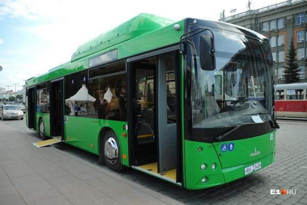 В новых автобусах установлены камеры и кондиционеры