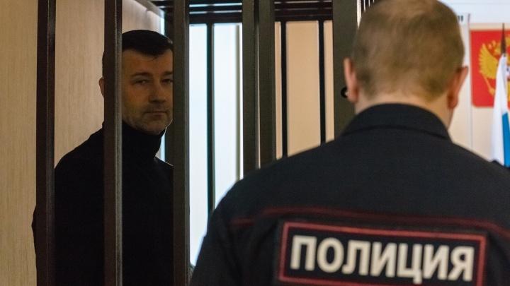 Дмитрий Сазонов, осуждённый за взятку, выступил перед судьями во время апелляции