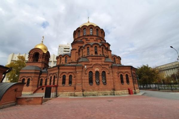 Мужчина с ножом пытался зайти в собор имени Александра Невского
