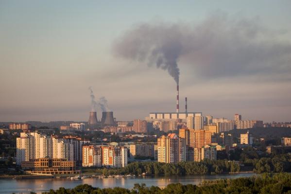 Больше всего сообщений о неприятном запахе поступило из Заельцовского района