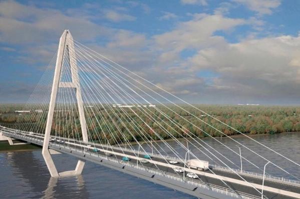 По проекту третий мост будет выглядеть так