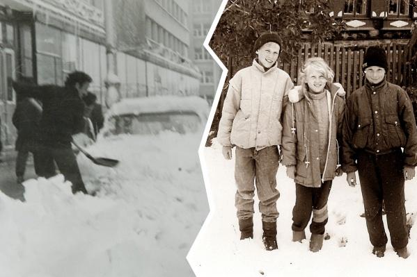Последствия майского и июньского снегопада