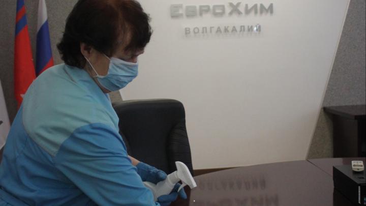 «ЕвроХим» увеличил производство доступных дезинфицирующих средств в России