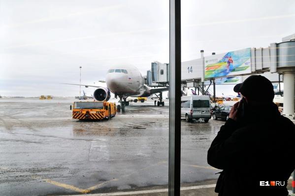 Самолет экстренно приземлился в Екатеринбурге