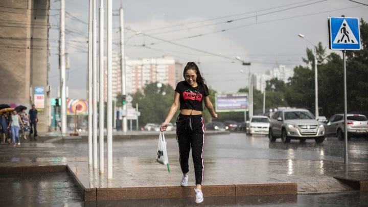 Грозовые дожди разной интенсивности — чего ещё ждать новосибирцам на этой неделе