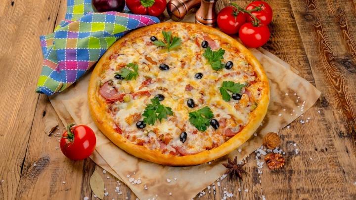 Тюменцы заказывают огромные пиццы всего за 100рублей: в городе заработал новый ресторан доставки