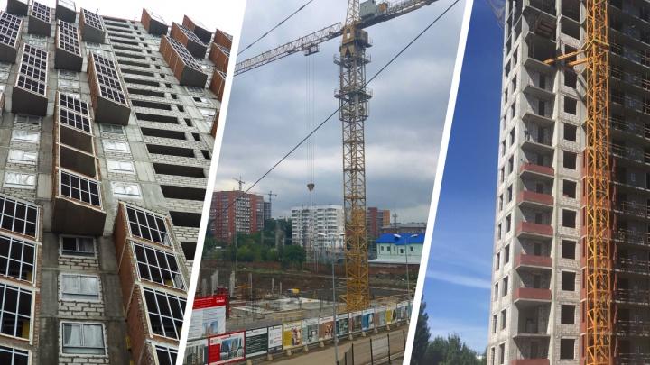 С зимним садом и пятикомнатными квартирами: какие дома начали строить в Перми в этом году