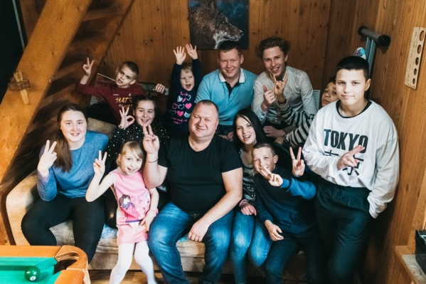 На этом фото еще не вся семья Ощепковых