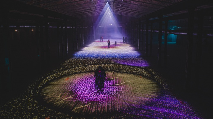 В Перми проходит фестиваль аудиовизуального искусства «Просвет». Показываем его впечатляющие инсталляции