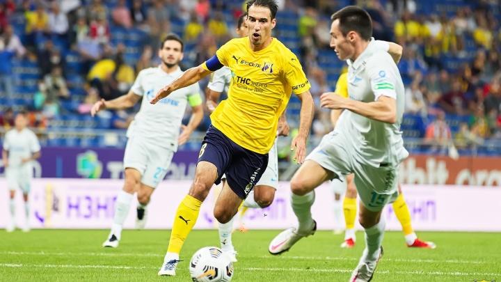 «Ростов» проиграл «Зениту» в первом домашнем матче сезона