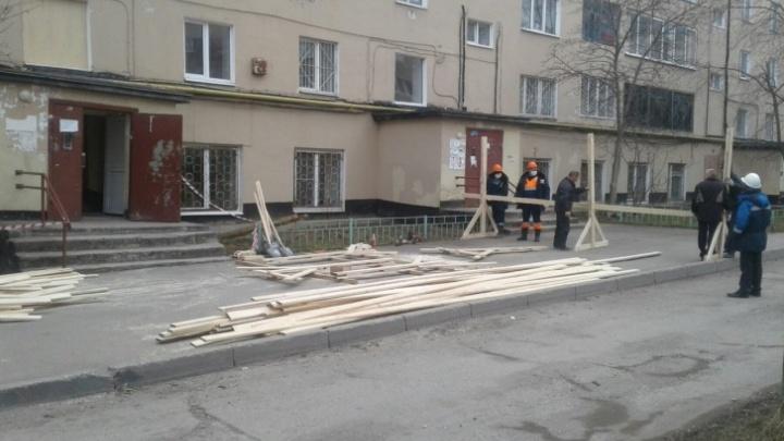 В доме на Чернышевского в Перми, где взорвался газ, заменили перекрытия