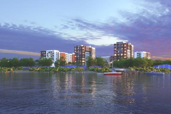Главная особенность нового жилого комплекса — его расположение