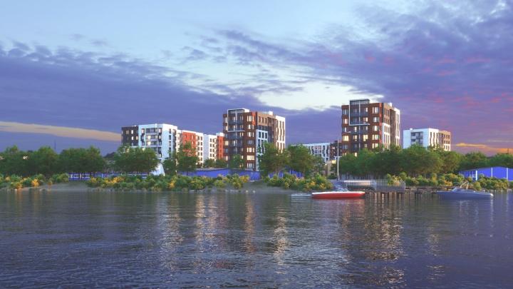 С видом на реку: группа «Аквилон» объявила о начале строительства нового жилого комплекса в Соломбале