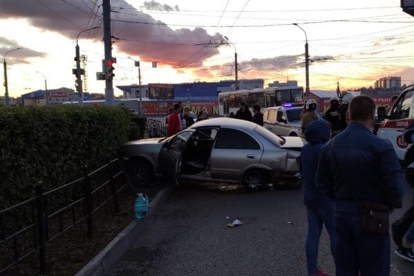 Авария произошла в половине десятого вечера