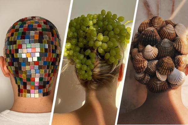 Дарья Севастьянова создает невероятные арт-прически — обязательно взгляните на них