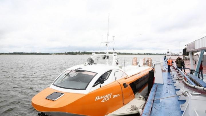«Валдаи» будут курсировать от центра Нижнего Новгорода до аэропорта