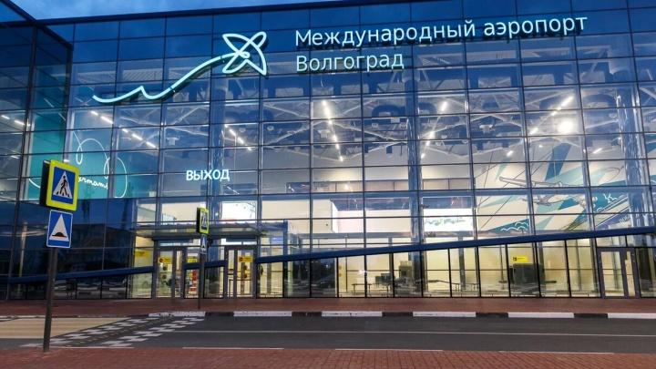 В аэропорту Волгограда не смог приземлиться самолет из Уфы