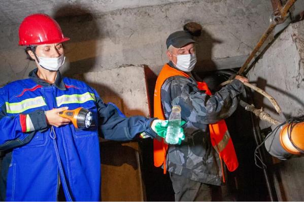 Сибирская генерирующая компания проверяет в Красноярске подготовку жилищных организаций к зиме