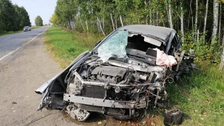 В Курганской области по вине пьяного водителя погиб человек