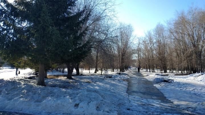 В Зауралье идут похолодание, снегопады и сильный ветер