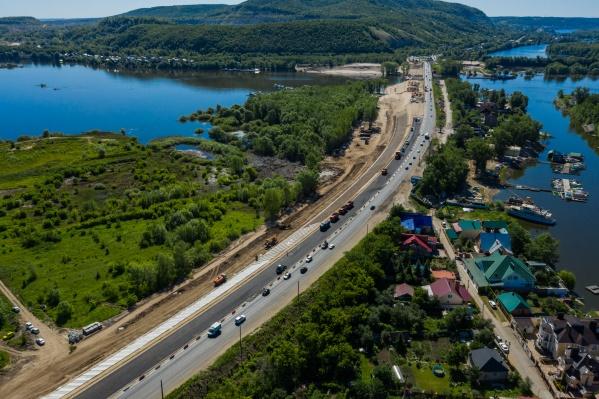 С помощью нового моста и расширения дороги уберут«узкое горлышко» на выезде с Красноглинского шоссе