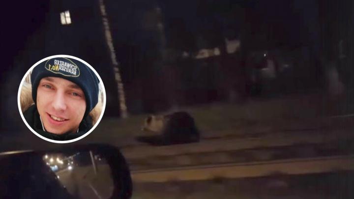 «Бежать некуда, он прыгнул на меня»: в Ярославле медведь напал на человека