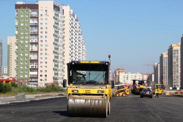 Новую дорогу на Левом берегу должны построить к концу года
