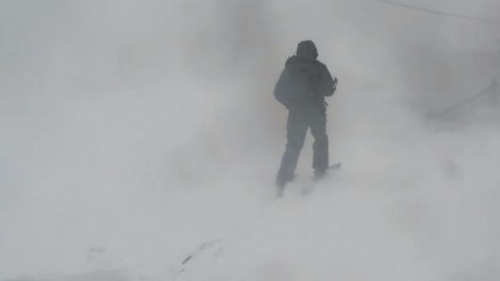 На Норильск идет пурга: объявлено штормовое предупреждение