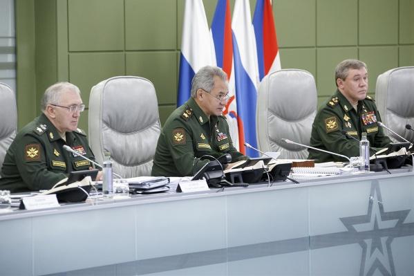 Сергей Шойгу ранее заявил, что обучение омских кадетов начнётся в следующем году на «новых фондах»