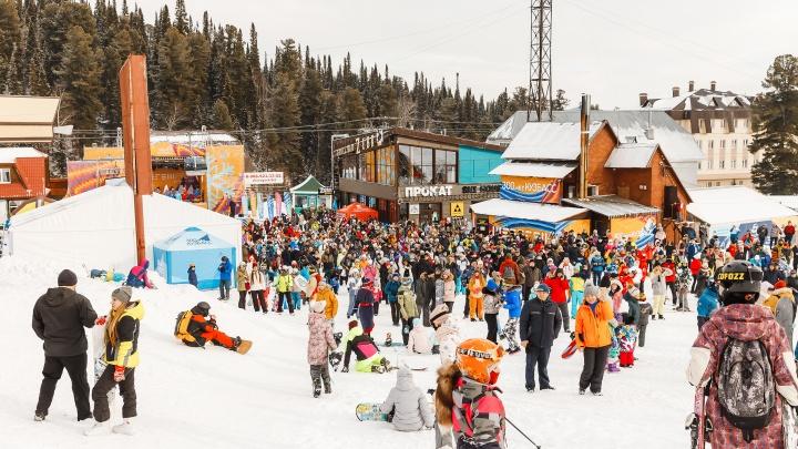 В Шерегеш на открытие сезона приехали около 5 тысяч туристов. В масках были единицы