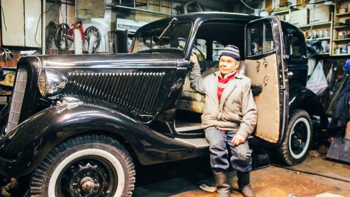 Омич восстановил автомобиль-воронок и выставил его на продажу за четыре миллиона