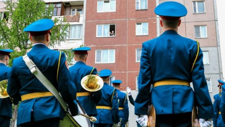 Оркестры, парадные расчеты и небо, как в 1945-м: Красноярск готовится снова отмечать День Победы