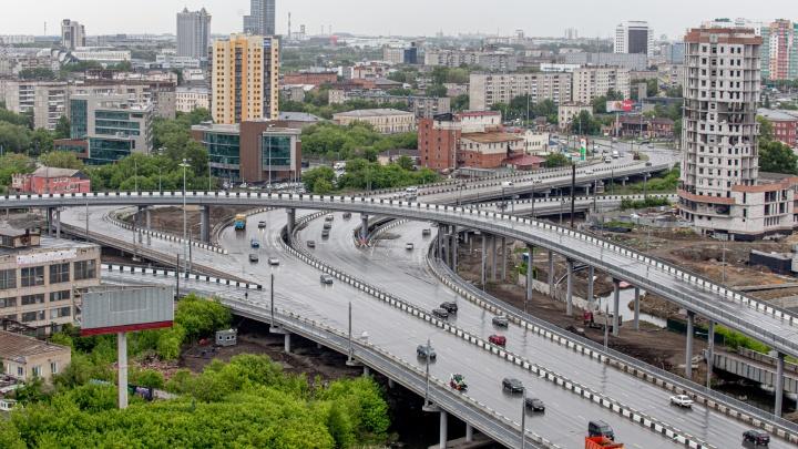Это финиш. Смотрим, как в Челябинске несколько лет строили спорную дорожную развязку