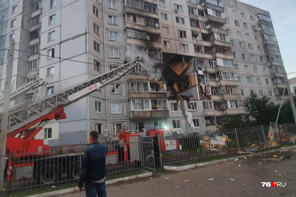 Взрыв прогремел такой силы, что был слышен со всех концов района