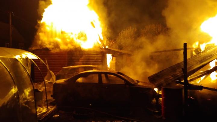 В пожаре под Уфой погиб 39-летний мужчина