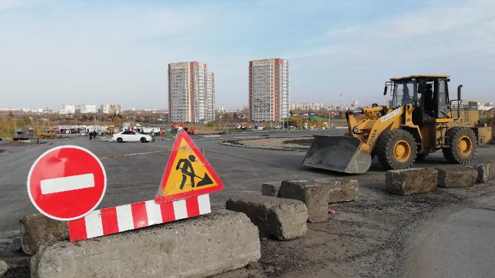 Улицу Перелёта в Омске откроют не раньше середины декабря