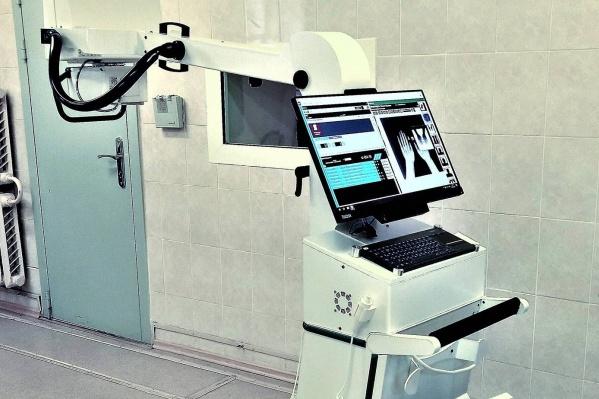 С этим рентгеновским аппаратом не нужно тратиться на реагенты для проявки пленки: снимки цифровые